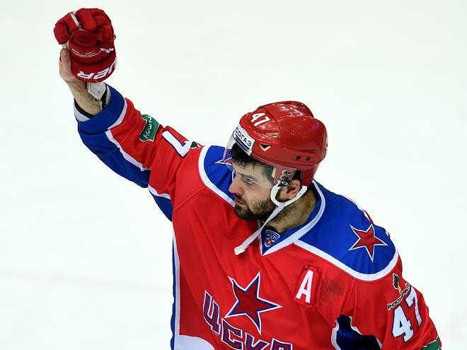 ЦСКА выиграл у «Йокерита» - 4:0