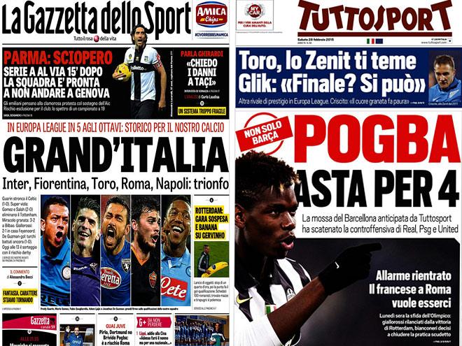 «Зенит» и «Динамо» – в обзоре итальянских СМИ