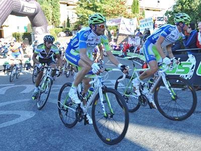 Александр Кристофф из «Катюши» попал в тройку лучших на этапе «Джиро»