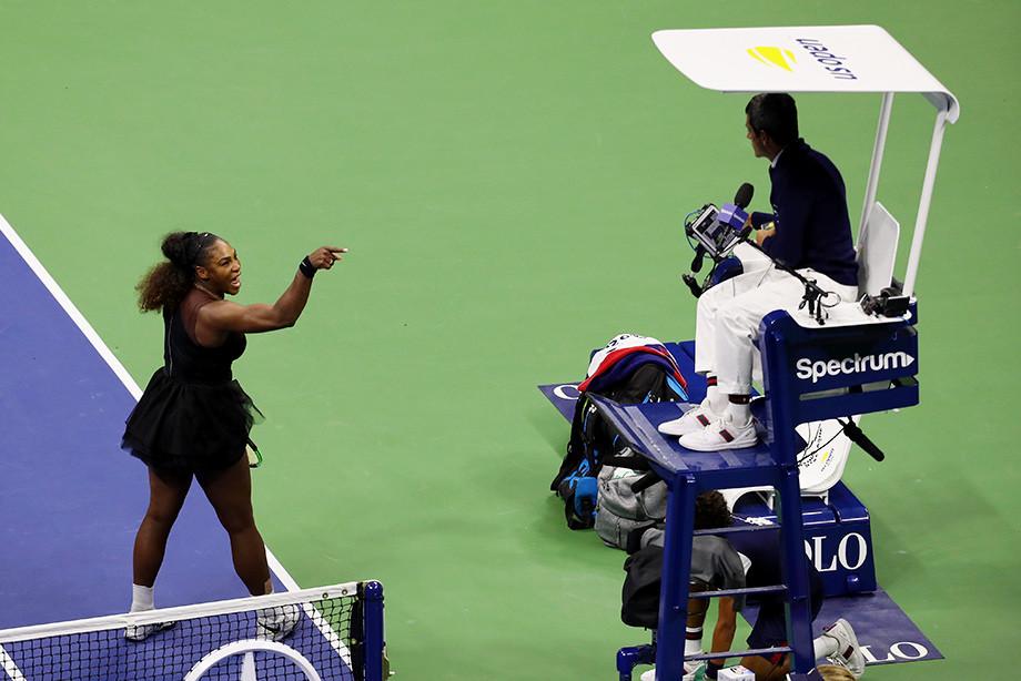 Организаторы US Open берегут Серену Уильямс от новых скандалов