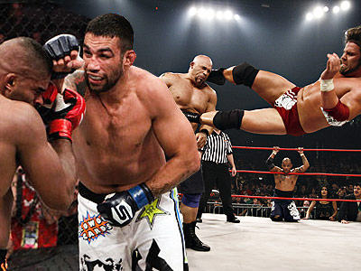 Бокс, ММА или реслинг?