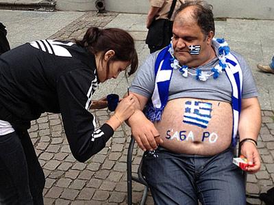 Матчем Германия – Греция завершилась программа Евро-2012 в Гданьске