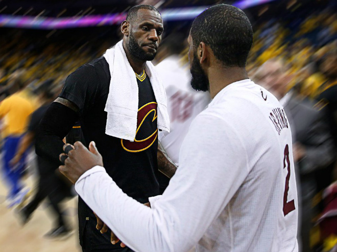 «Кливленд» победил «Голден Стэйт» в матче № 5 финала НБА-2016