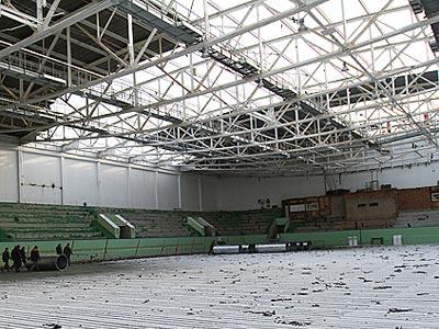 Дворец спорта в Уфе готовят к МЧМ-2013