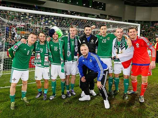 Игроки сборной Северной Ирландии