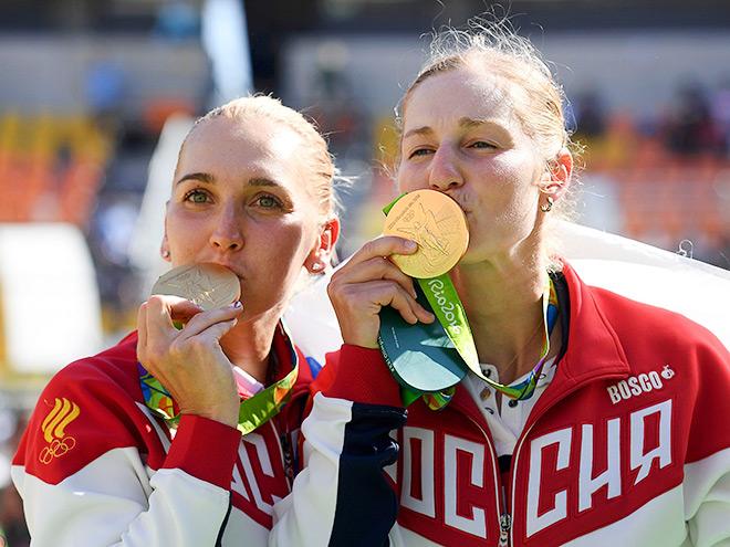Елена Веснина и Екатерина Макарова