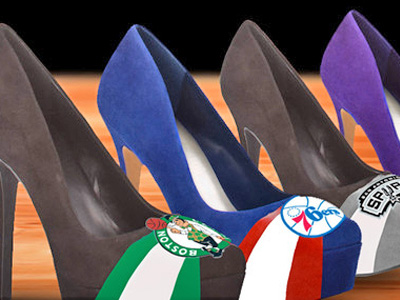 НБА выдала лицензию на продажу туфель с символикой клубов