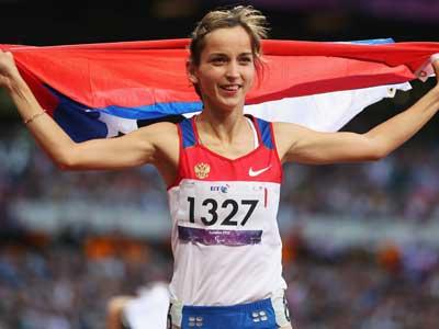 Елена Иванова выиграла в беге на 100 метров
