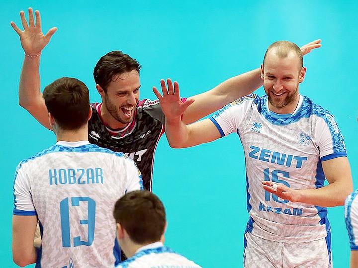 Волейбол. Три российских клуба пробились в плей-офф Лиги чемпионов