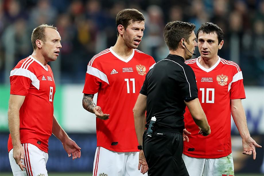 Россия — Испания — 3:3