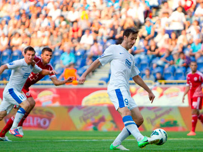 В напряжённом матче «Днепр» отстоял победу над «Волынью»