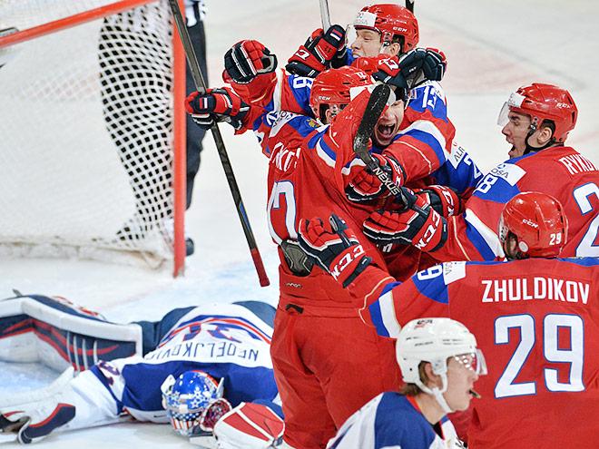 МЧМ-2016. 1/2 финала. Россия – США – 2:1