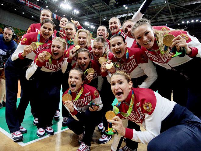 Олимпиада-2016. Франция - Россия - 19:22. Фото