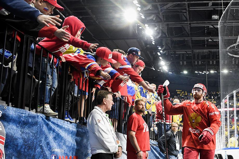 Владислав Гавриков, сборная России — Хоккей