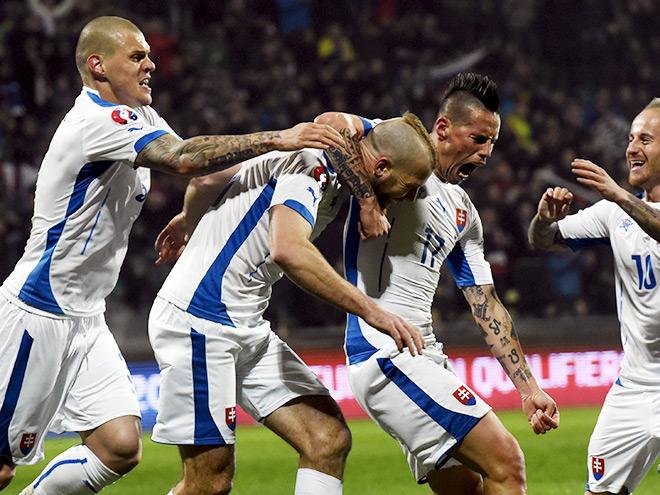 Сборная Словакии на чемпионате Европы–2016