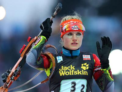 Победительница гонки — Габриэла Соукалова