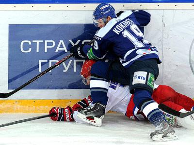Итоги игрового дня КХЛ (23.01.2014)