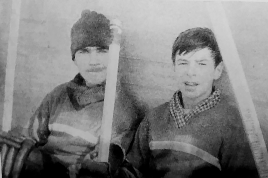 1960-е. Николай Вакуров и Валерий Харламов