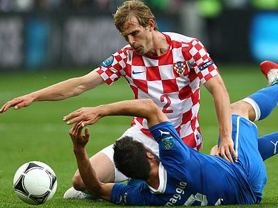 Хорваты сыграли вничью с Италией, повысив шансы на выход в плей-офф
