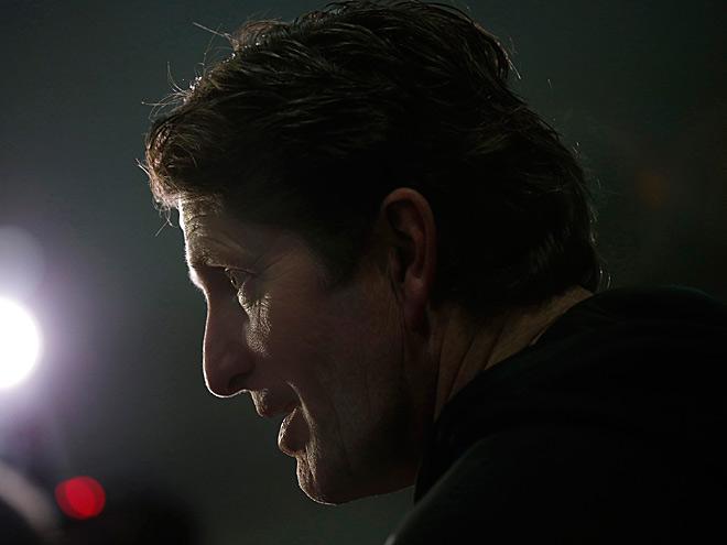 Тренер «Детройта» Майк Бэбкок выбирает клуб НХЛ