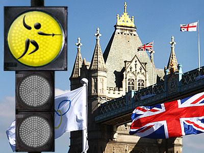 """""""Лондонский светофор"""". Фехтование"""
