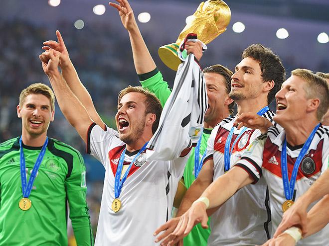 Сборная Германии — чемпион мира!