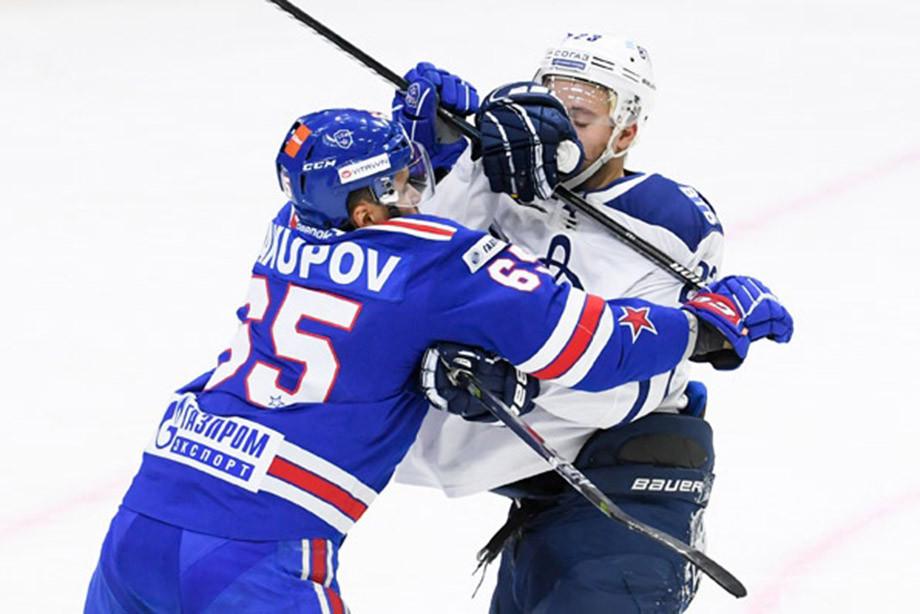 Шипачёв чуть не выбил глаз бывшему партнёру. «Динамо» дало бой СКА