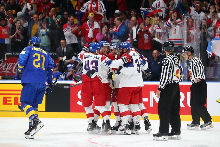Шведы не проигрывали на ЧМ 17 матчей! Пока не попали в чешский «котёл»