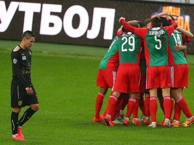 """""""Локомотив"""" — """"Рубин"""" — 3:0. Обзор матча"""