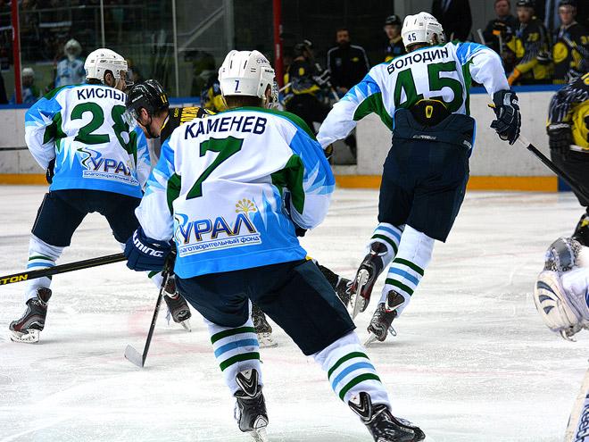 ВХЛ. 1/2 финала. «Сарыарка» - «Торос» - 2:0