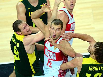 Лондон-2012. Баскетбол. Сергей Моня