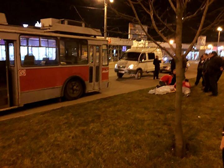 Фаната «Спартака» сбил троллейбус в Краснодаре