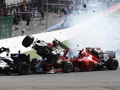 Герои и неудачники Гран-при Бельгии Формулы-1