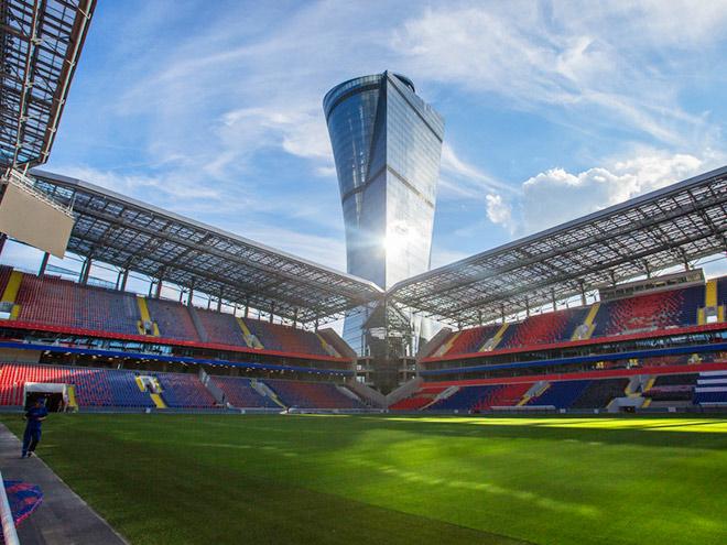 Новый стадион ЦСКА достроен и введён в эксплуатацию: фото