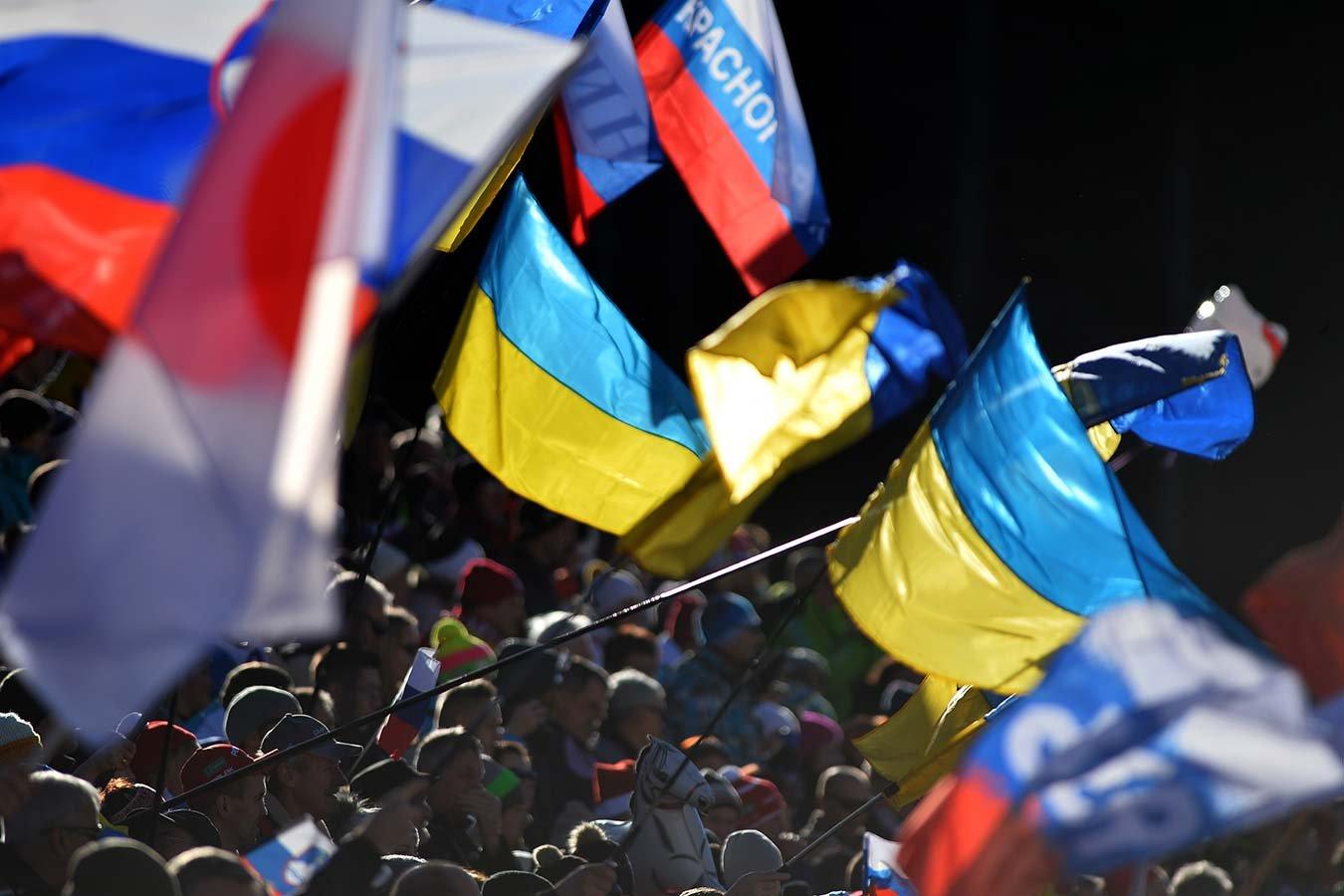 Как украинцы болели за Россию
