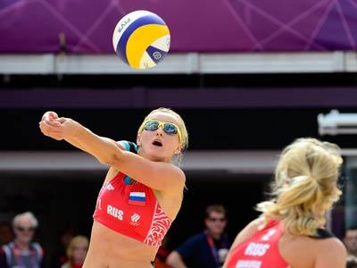 Лондон-2012. Пляжный волейбол. Уколова-Хомякова