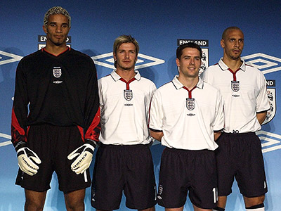 С 2013 года английская сборная наденет форму Nike