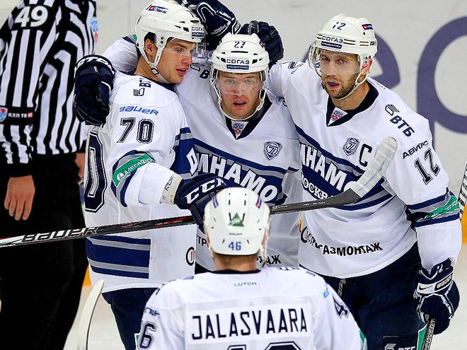 «Динамо» одержало волевую победу над «Салаватом»