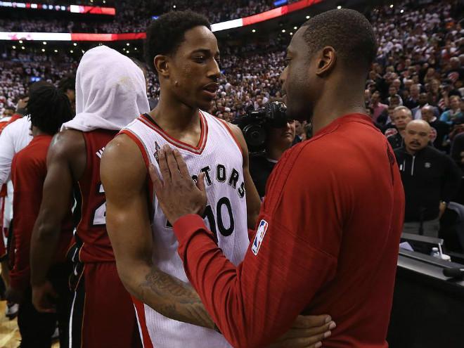 """""""Торонто"""" выиграл седьмой матч серии с """"Майами"""" в плей-офф НБА"""