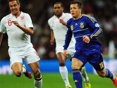 Сборная Украины отправляется на матч с Молдавией