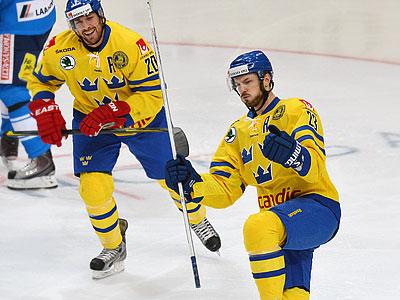 Сборная Швеции обыграла Финляндию - 4:1