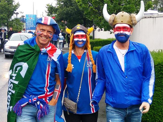 Париж перед матчем Евро-2016 Франция – Исландия: фото, видео
