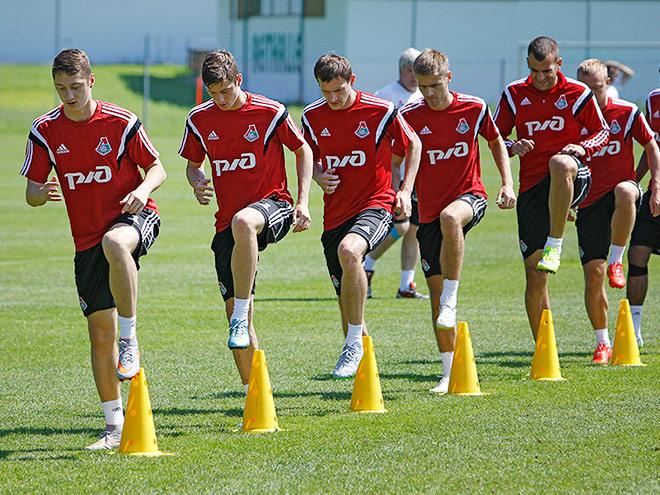 Как «Локомотив» тренируется в Австрии
