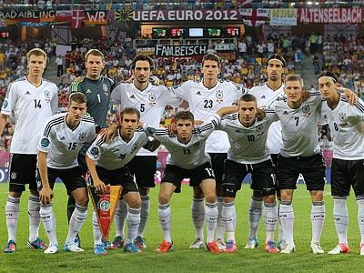 Германия — один из фаворитов Евро-2012