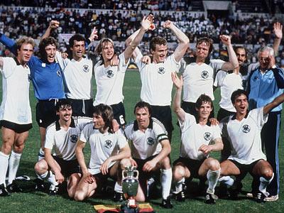 Сборная ФРГ — чемпион Европы 1980 года