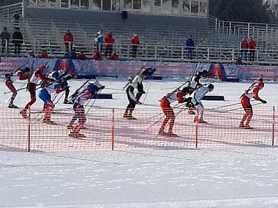 Эстафеты завершили биатлонную программу на Спартакиаде