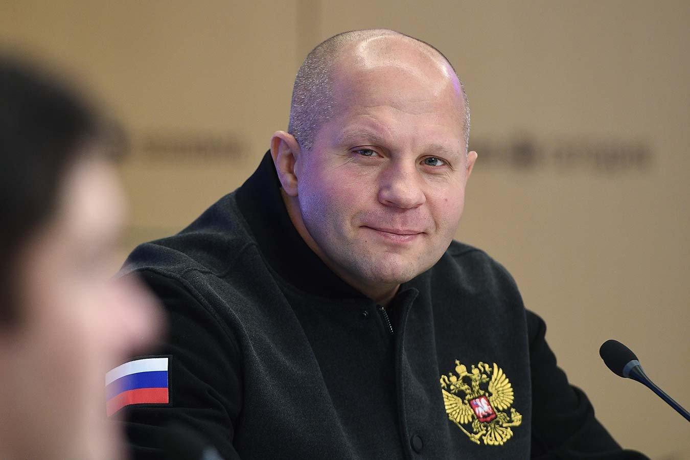 Фёдор Емельяненко отреагировал на желание брата провести бой с Джиганом
