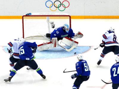 Американцы разгромили Словению