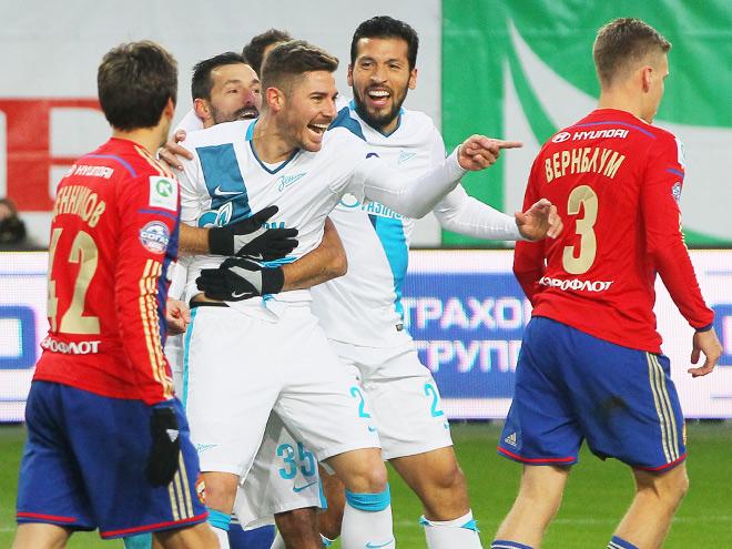 ЦСКА – «Зенит». Обзор матча – 0:1
