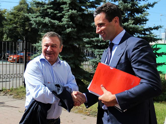Роман Ротенберг (справа)